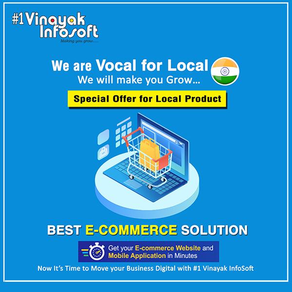 Best e-Commerce Solution Ecommerce website Web Development