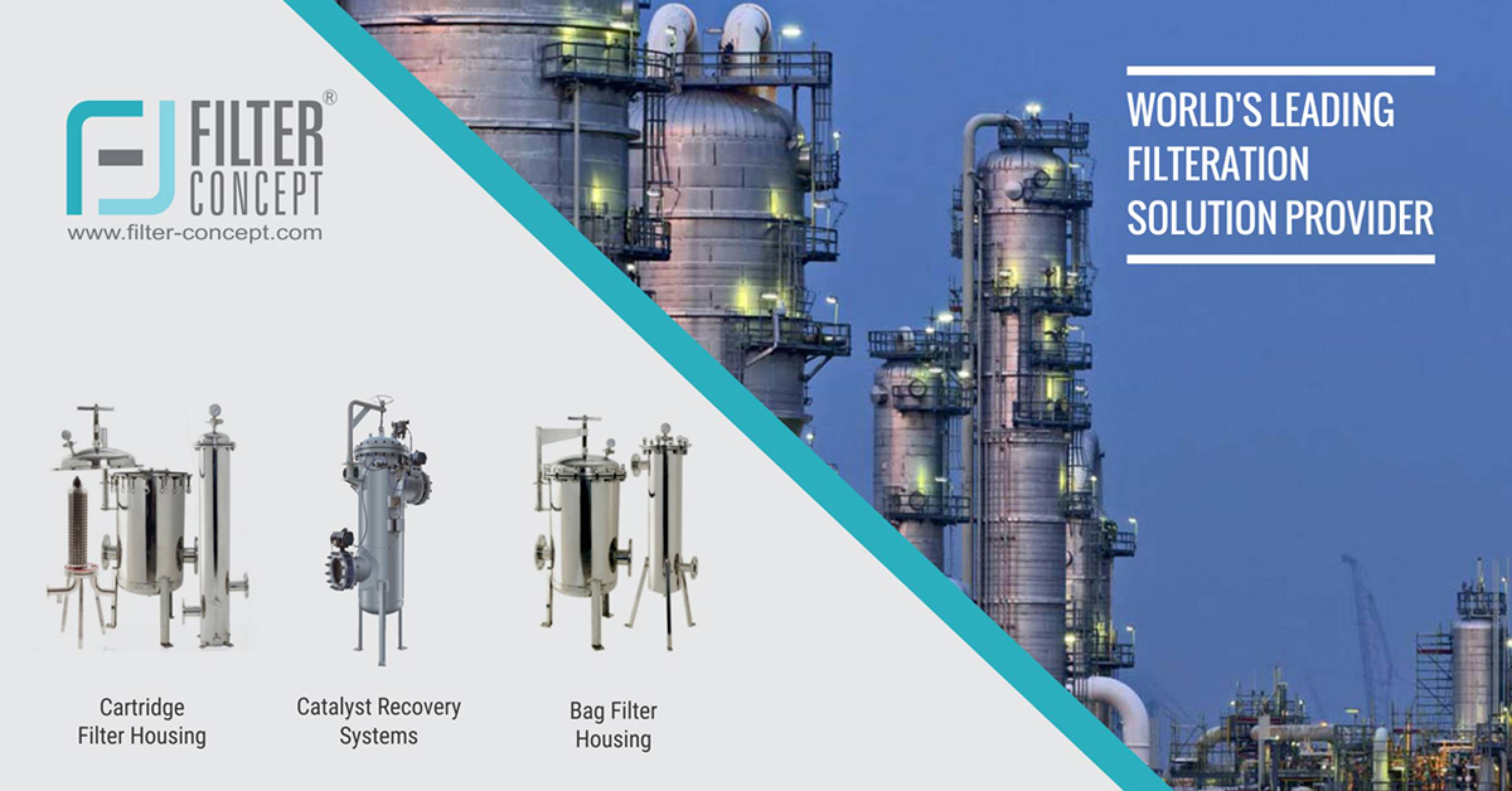 Cartridge Filters, Industrial Filter Manufacturer & Supplier - Filter Concept